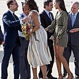 Michelle, Malia, and Sasha Obama in Spain 2016