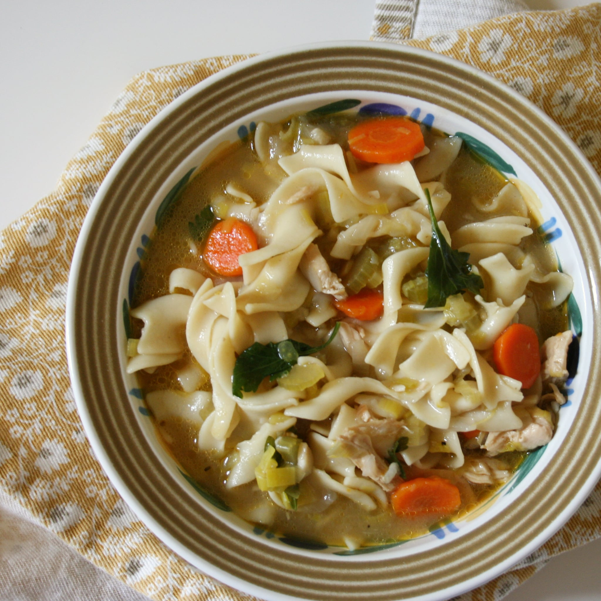 Easy chicken noodle soup recipe popsugar food forumfinder Choice Image