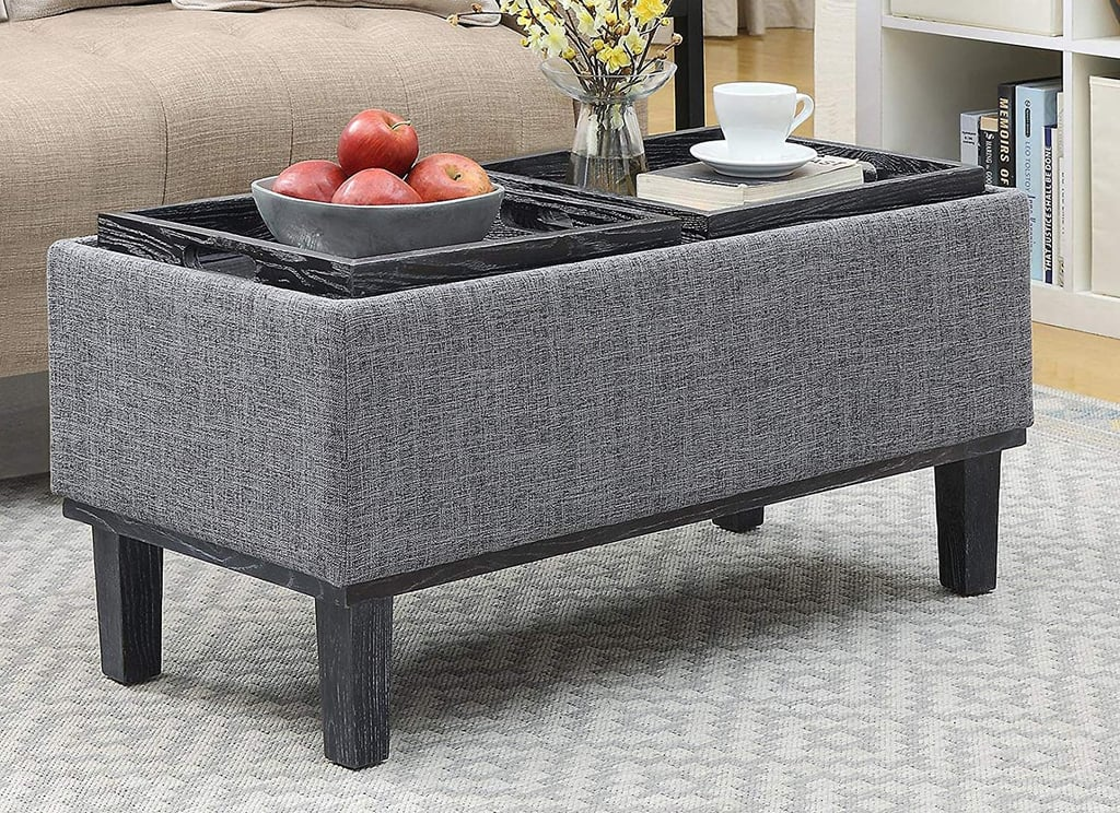 Convenience Concepts Brentwood Ottoman Best Space Saving