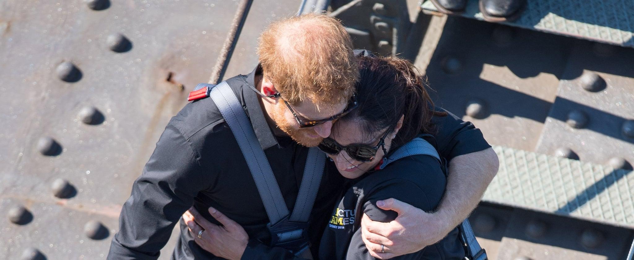 Prince Harry Comforts a Military Widow in Australia 2018
