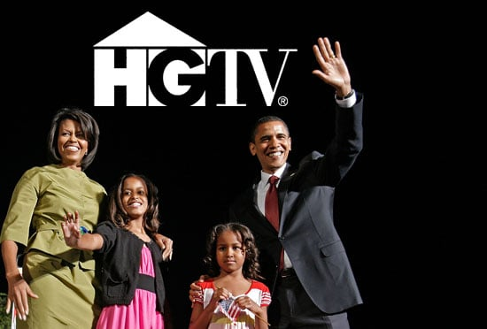 This Just In: The Obamas Tune in to HGTV