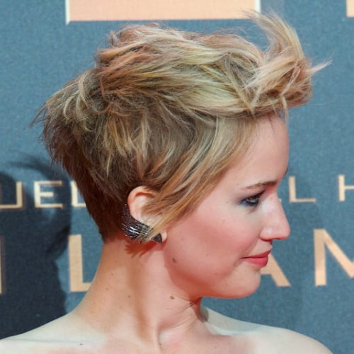 How Many Ways Can Jennifer Lawrence Style Her Pixie