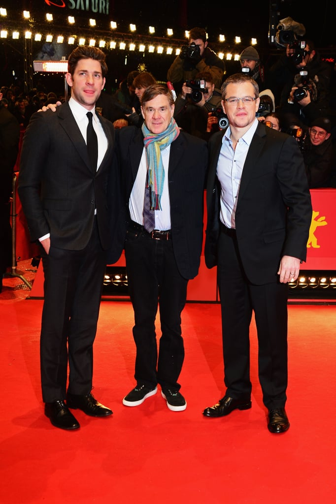 Matt Damon Snaps Away on the Red Carpet With John Krasinski