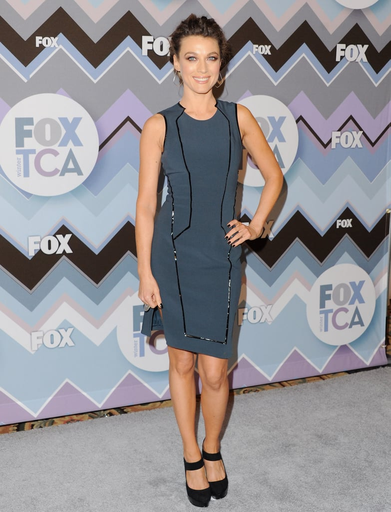 Natalie Zea attended the FOX All-Star Party.
