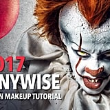 Medium-Level Pennywise Makeup