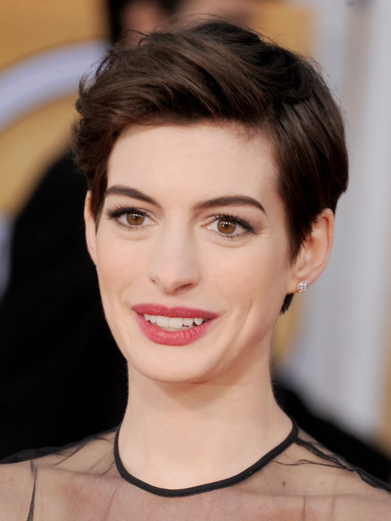 The Easiest Way To Change Up A Short Haircut Is To Switch The Part