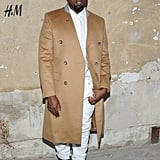 Kanye West stepped out for the launch of Maison Martin Margiela for H&M in NYC.