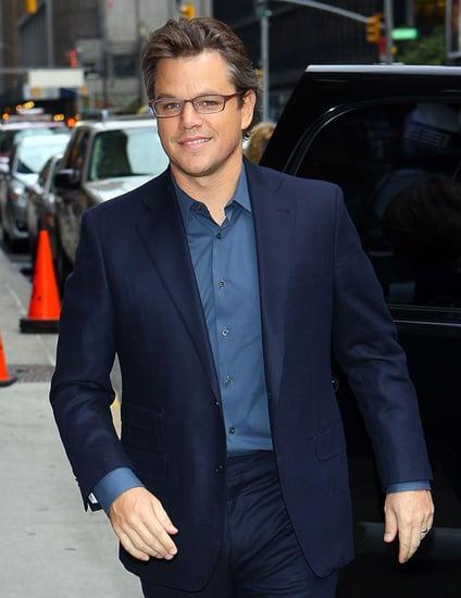 Picture of Matt Damon With Gray Hair