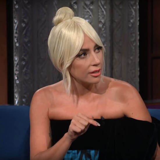 Lady Gaga Talks Christine Blasey Ford With Stephen Colbert