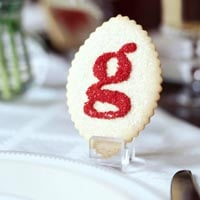 Gorgeous Alphabet Sugar Cookies