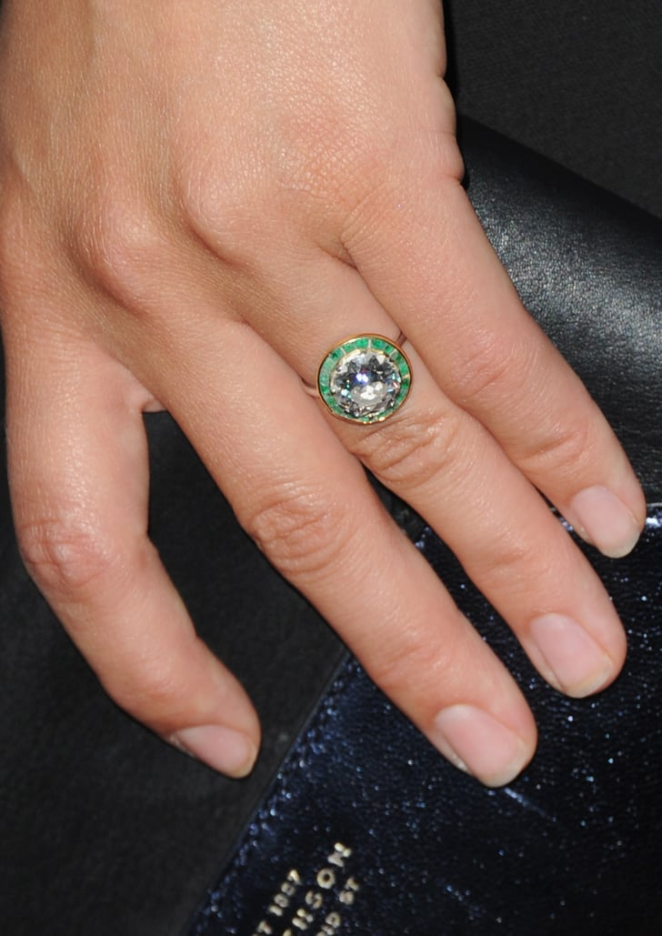 The Ring Nontraditional Celebrity Engagement Rings