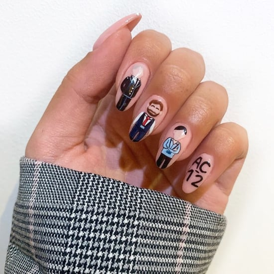 See This Detailed Line of Duty AC-12 Team Nail Art