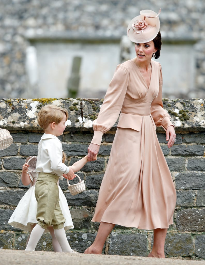 Kate Middleton Wore an Alexander McQueen Dress to Pippa's Wedding