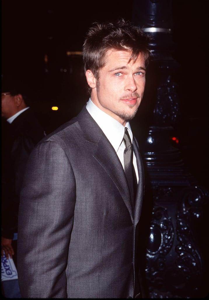 Brad showed off some scruff at the Meet Joe Black Beverly Hills premiere in November 1998.