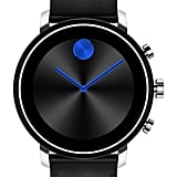 Movado Bold Connect 2.0 Leather Strap Smart Watch