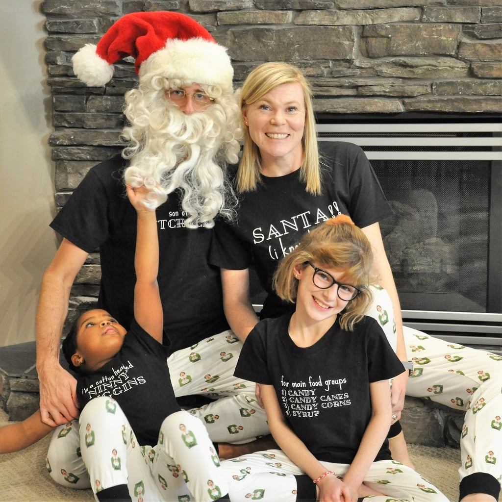 Elf Movie Matching Family Christmas Pajamas