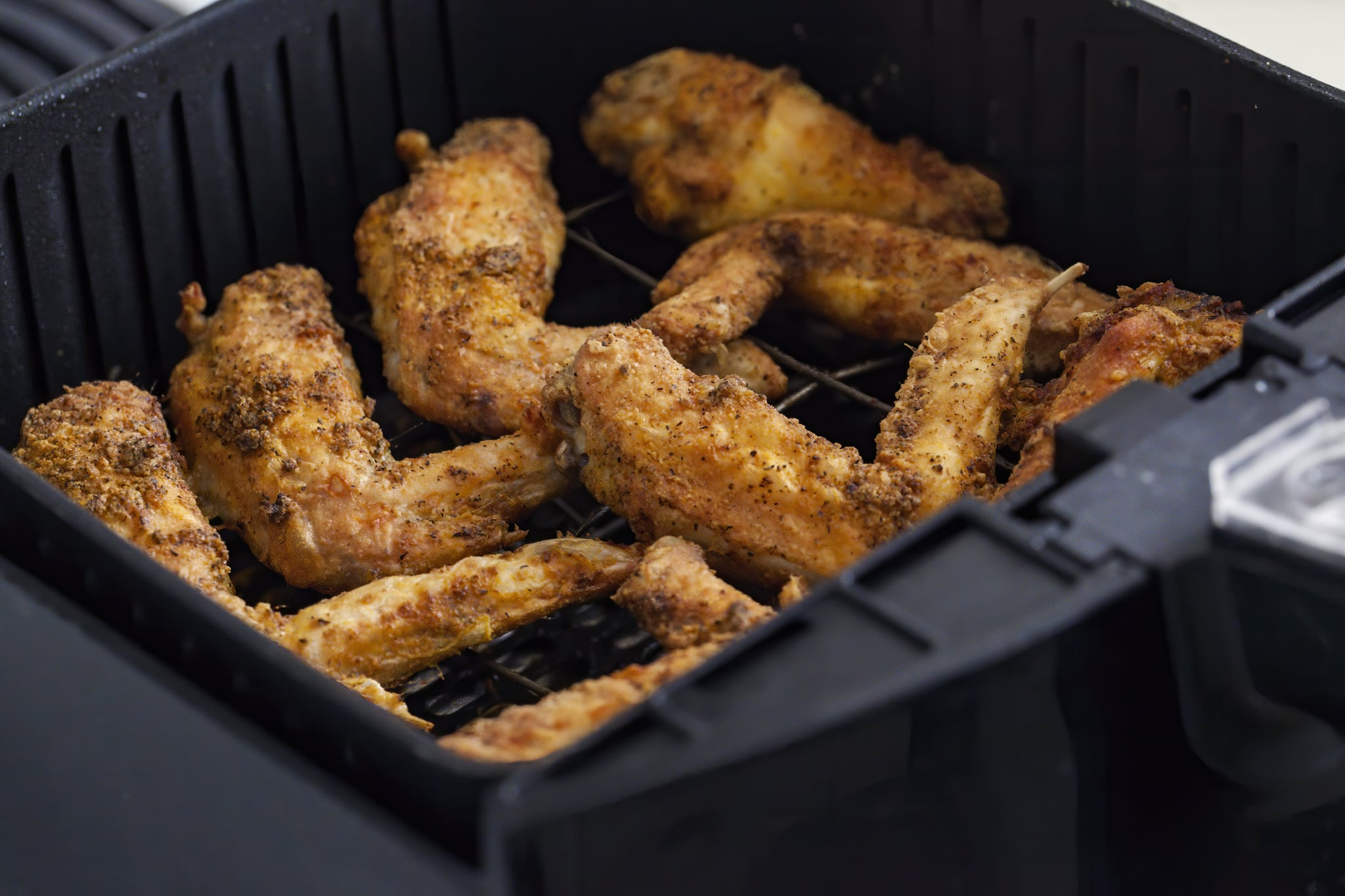 Air fried in air-fryer, new trend of healthy and low fat food