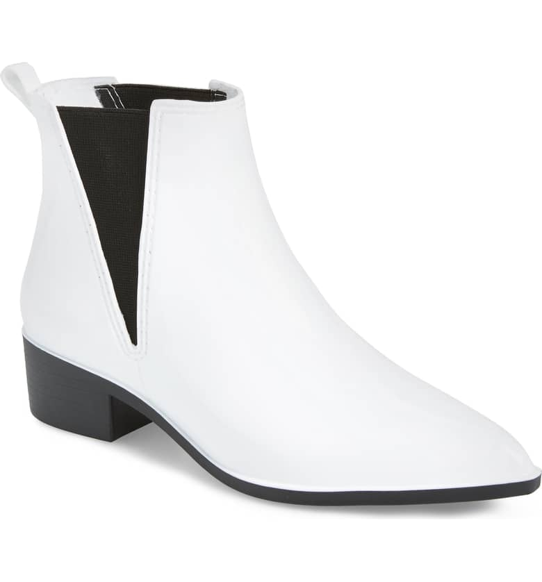 0e6e7d752ff6 Jeffrey Campbell Mist Chelsea Waterproof Rain Boot