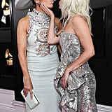 Lady Gaga and Jennifer Lopez at the 2019 Grammys