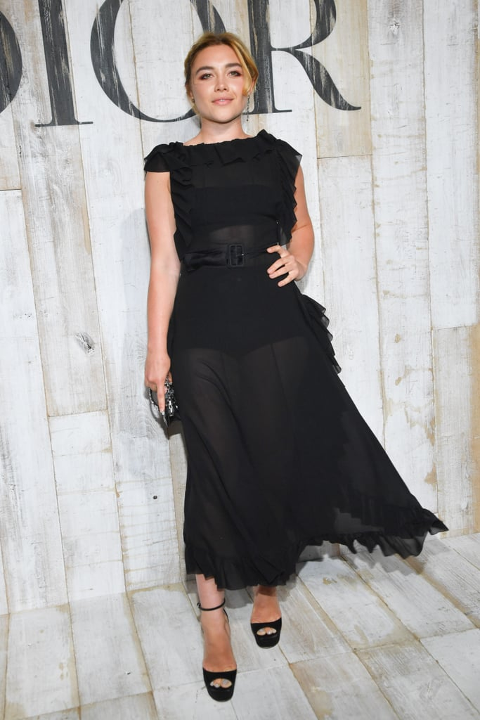 Florence Pugh at the Christian Dior Couture S/S '19 Show
