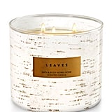 Leaves candle ($25)