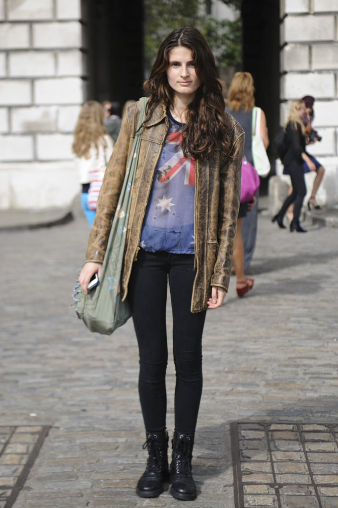 London Fashion Week Street Style Spring 2013 Popsugar Fashion