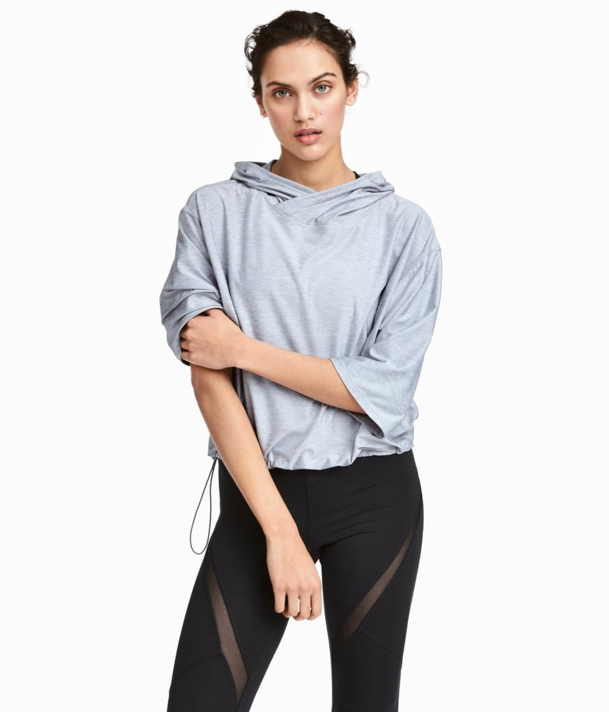 H&M Hooded Yoga Top