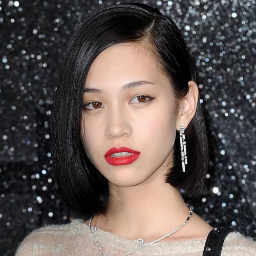 Kiko Mizuhara Celebrity Beauty Style At 2011 Paris Haute