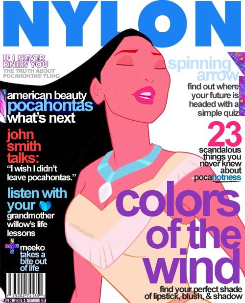 Magazine Cover Pocahontas