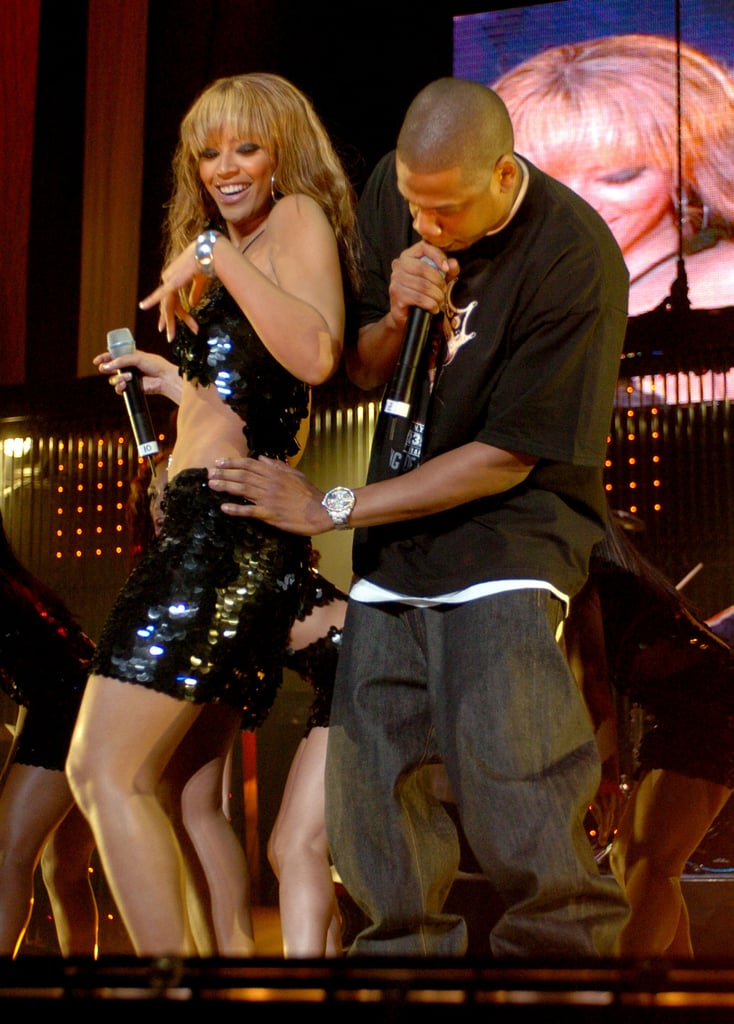 In November 2003, Beyoncé and Jay Z performed at Madison Square Garden in New York City.