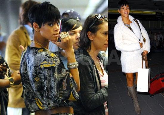 Photos of Rihanna at LAX Airport