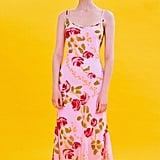 Betsey Johnson UO Excusive Floral Slip Midi Dress