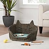 Wicker Cat Pet Bed