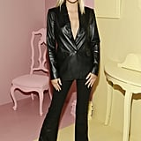 Delilah Belle Hamlin at the Alice + Olivia New York Fashion Week Presentation