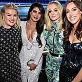 Danielle Jonas, Priyanka Chopra, and Sophie Turner Pictures