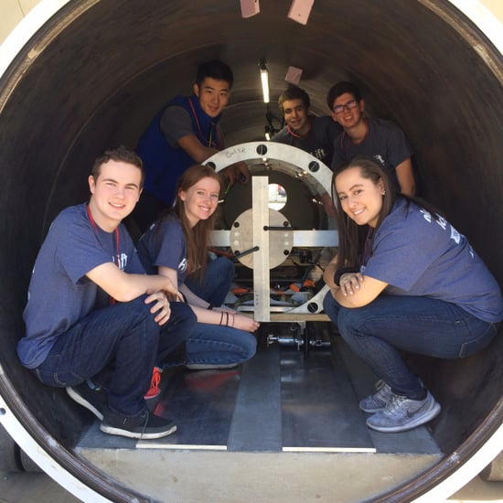 High School Team at SpaceX Hyperloop Competition