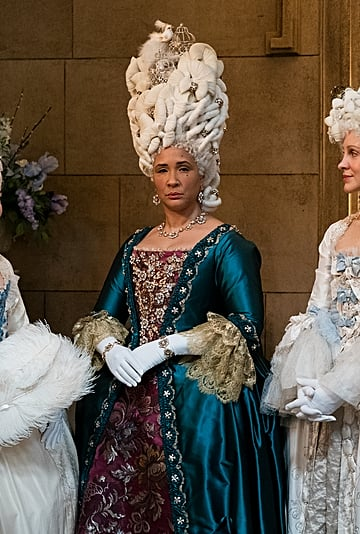 Queen Charlotte's Beyoncé-Inspired Hairstyle on Bridgerton