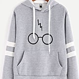 Minetom Harry Potter Glasses Hoodie