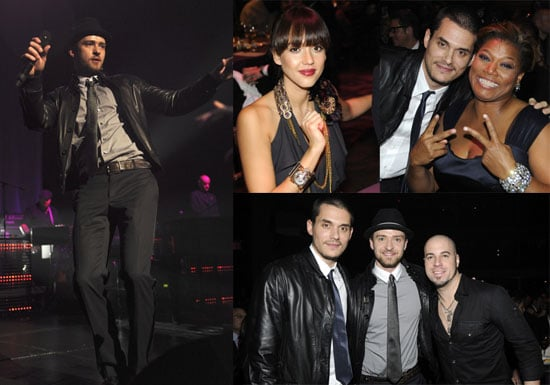 Photos of Justin Timberlake, Chris Daughtry, John Mayer at Keep A Child Alive's Black Ball in New York City