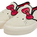 Hello Kitty X ASOS Borg Sneakers With Embroidery Detail ($56)