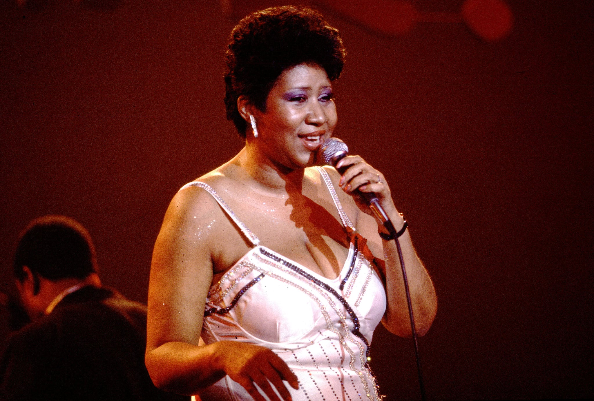 Aretha Franklin on 4/18/85 in Chicago, Il. in Various Locations, (Photo by Paul Natkin/WireImage)