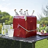 Reminiscent of an old Coca-Cola cooler, this retro-inspired beauty ($70) even includes a bottle opener on the side.
