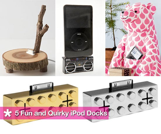 Fun and Quirky iPod Docks