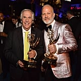 Pictured: Henry Winkler and Ryan Murphy