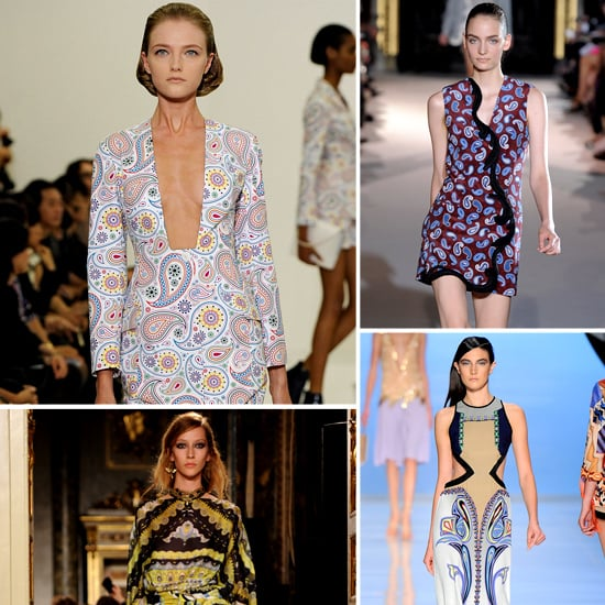 Shop the Paisley Trend For Spring 2012