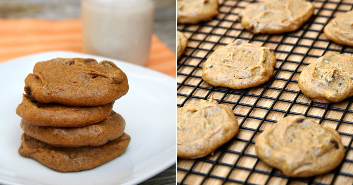 Bake a Batch of These Low-Carb Almond-Butter Pumpkin Chocolate-Chip Cookies