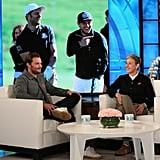 Jamie Dornan on The Ellen DeGeneres Show 2018