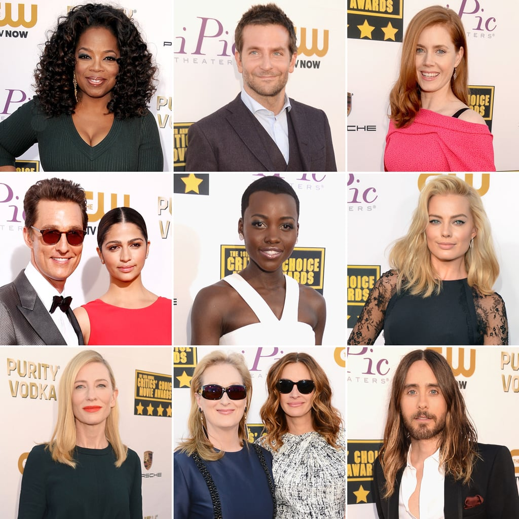 Celebrities on the Critics' Choice Awards Red Carpet 2014