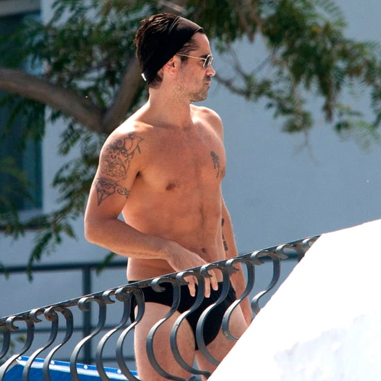 Colin Farrell Wearing a Speedo in Italy | Pictures