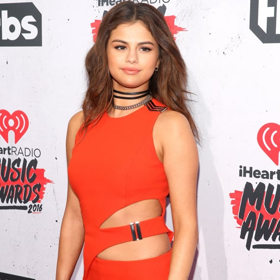 Selena Gomez Mugler Jumpsuit at the iHeartRadio Awards 2016